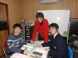 山の街教室の生徒